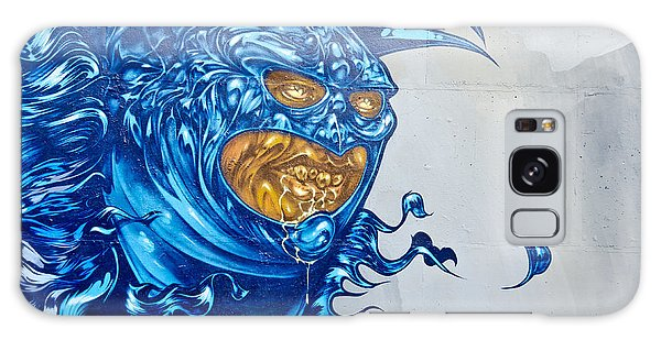 Strange Graffiti Creature Galaxy Case by Yurix Sardinelly