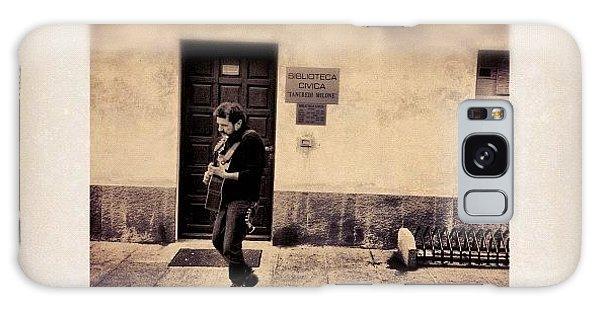 Celebrities Galaxy Case - Street Musician by Paul Cutright