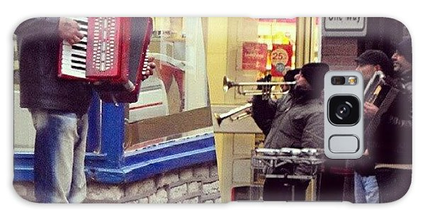 Music Galaxy Case - #street #musicians In #oswestry #wales by Alexandra Cook