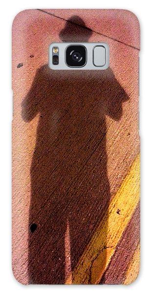 Street Shadows 001 Galaxy Case by Lon Casler Bixby
