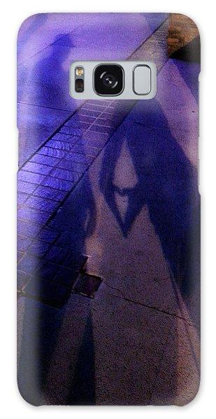 Street Shadows 004 Galaxy Case by Lon Casler Bixby