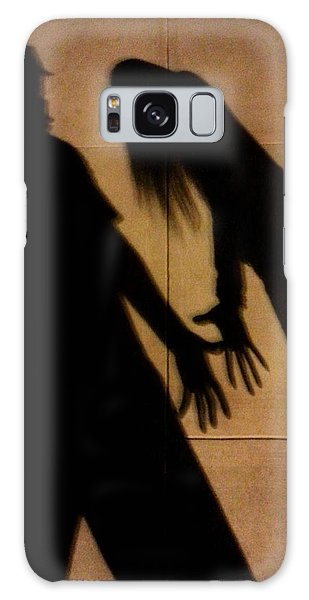 Street Shadows 006 Galaxy Case