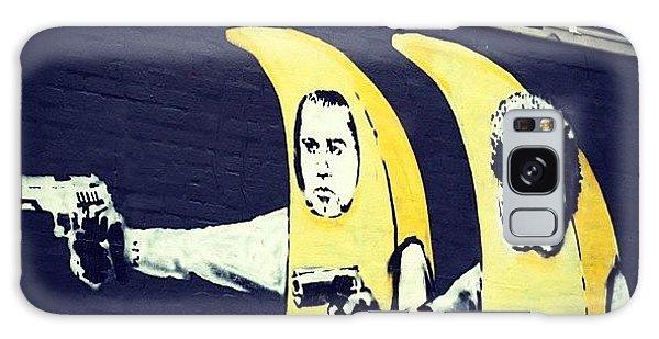 Design Galaxy Case - #streetart #smile #stencil #banksy by A Rey