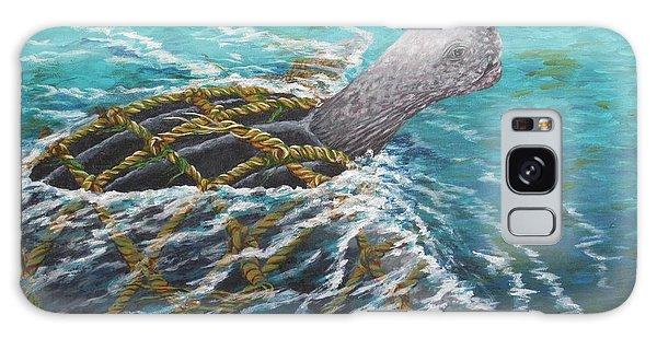 Struggle -leatherback Sea Turtle Galaxy Case