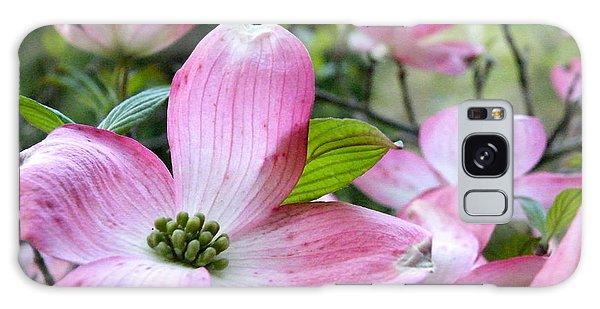 Subtle Magnolia Galaxy Case