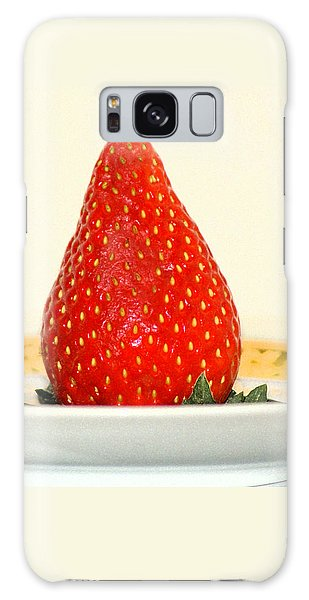 Succulent Strawberry Galaxy Case by Margie Avellino