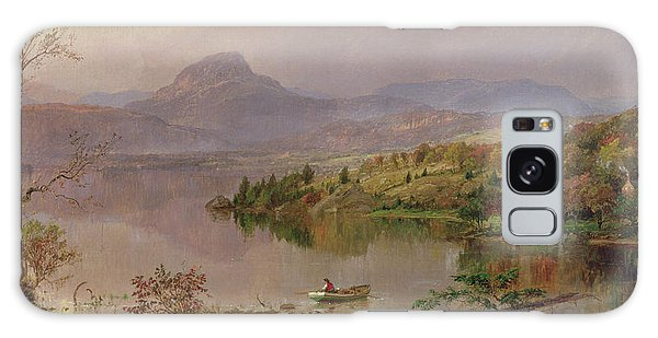 Central America Galaxy Case - Sugarloaf From Wickham Lake by Jasper Francis Cropsey