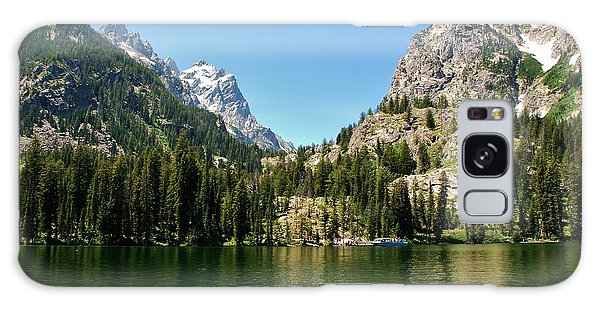 Summer Day At Jenny Lake Galaxy Case by Dany Lison