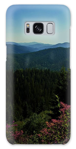 Summer In The Mountains Galaxy Case