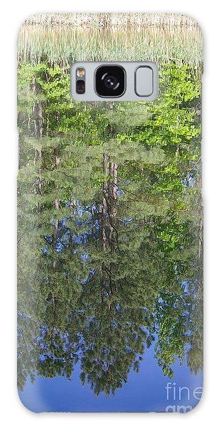 Summer Reflection Galaxy Case by Tannis  Baldwin