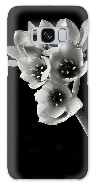Sun Star In Black And White Galaxy Case by Endre Balogh