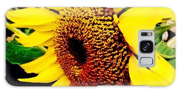 Summer Galaxy Case - #sunflower #flower #sun #yellow #green by Katie Williams