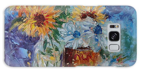 Sunflower Still Life Two Galaxy Case