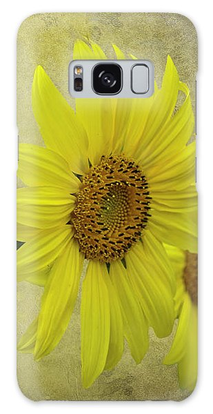 Sunflower Trio Galaxy Case by Diane Schuster