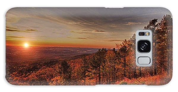 Sunrise 2-talimena Scenic Drive Arkansas Galaxy Case