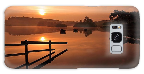 Sunrise At Knapps Loch Galaxy Case
