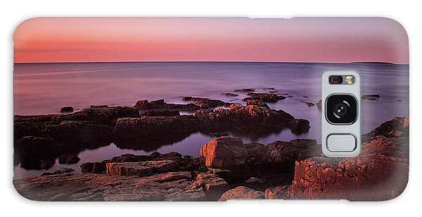 Otter Rock Galaxy Case - Sunrise At Otter Point by Rick Berk