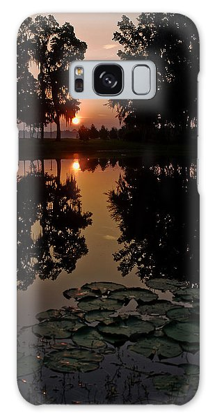 Sunrise From My Pad Galaxy Case by Dan Wells