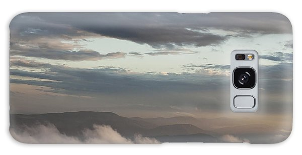 Sunrise In The Mountains Galaxy Case by Jeannette Hunt
