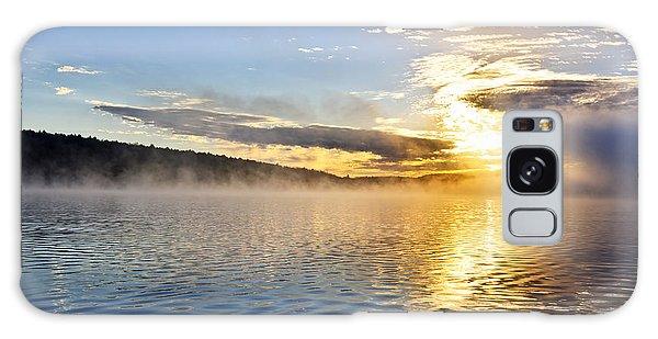 Beautiful Sunrise Galaxy Case - Sunrise On Foggy Lake by Elena Elisseeva