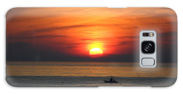 Sunrise Over Gyeng-po Sea Galaxy Case by Kume Bryant