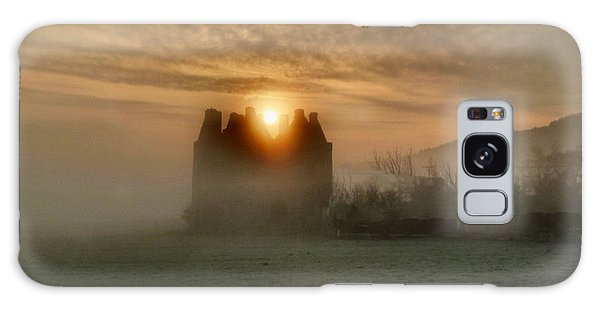 Sunrise Over The Tower Galaxy Case by Debra Collins