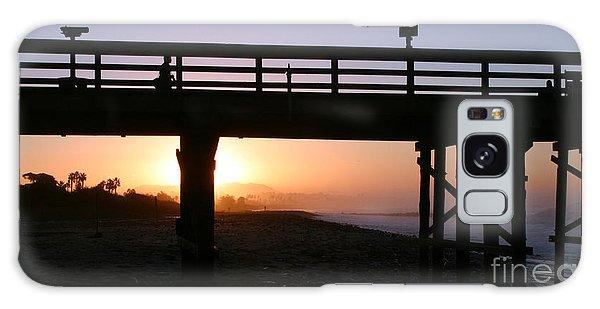 Sunrise Pier Ventura Galaxy Case