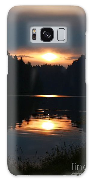 Sunrise Reflection Galaxy Case by Tyra  OBryant