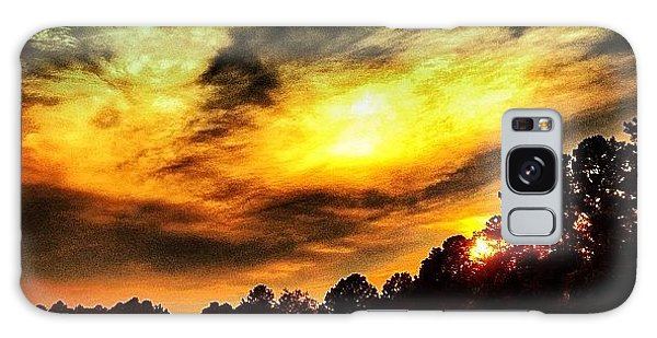 Summer Galaxy Case - Sunset At Bondpark by Katie Williams