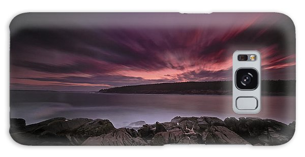 Otter Rock Galaxy Case - Sunset At Otter Point by Rick Berk