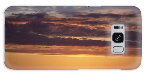 Sunset At Surfside 4 Galaxy Case by Peter Mooyman