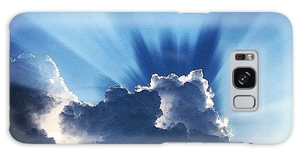 Summer Galaxy Case - #sunset #clouds #weather #rays #light by Amber Flowers