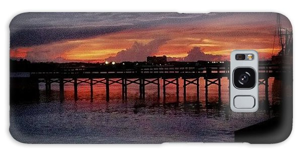 Summer Galaxy Case - #sunset #dock #awesome #doubletap by Mandy Shupp