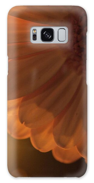 Sunset Flower Galaxy Case by JM Photography