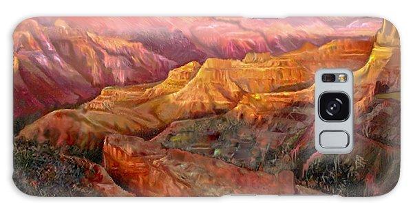 Sunset Grand Canyon Galaxy Case