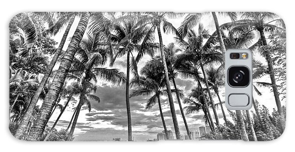 Flagler Galaxy Case - Sunset Grove At Palm Beach by Debra and Dave Vanderlaan
