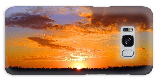 Sunset In Wayne County Galaxy Case