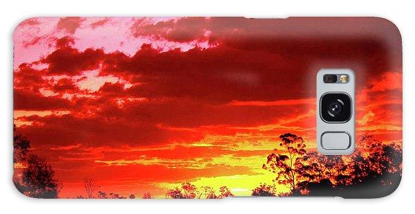 Galaxy Case - Sunset by Karen Elzinga