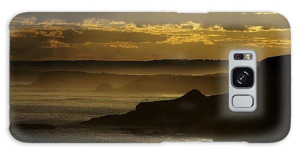 Sunset Mist Galaxy Case by Blair Stuart