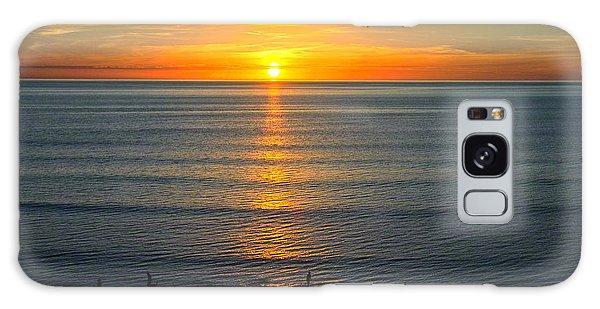 Sunset - Moana Beach - South Australia Galaxy Case