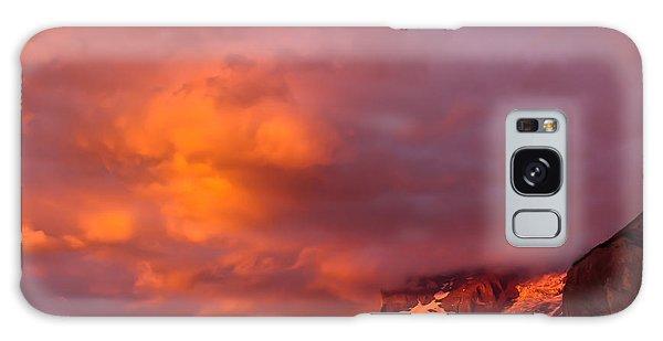 Sunset Murren Switzerland Galaxy Case