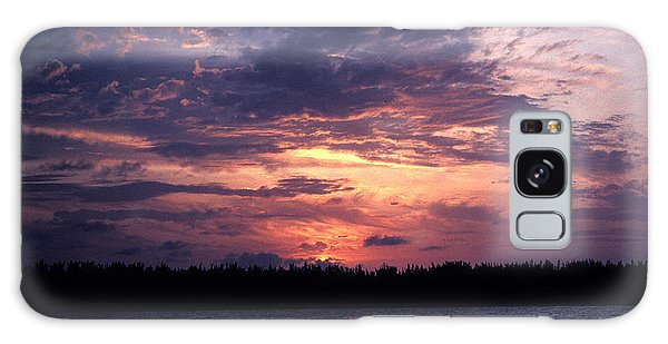 Sunset Off Mallory Square 14s Galaxy Case by Gerry Gantt