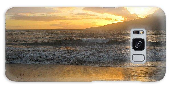 Sunset On Maui Galaxy Case