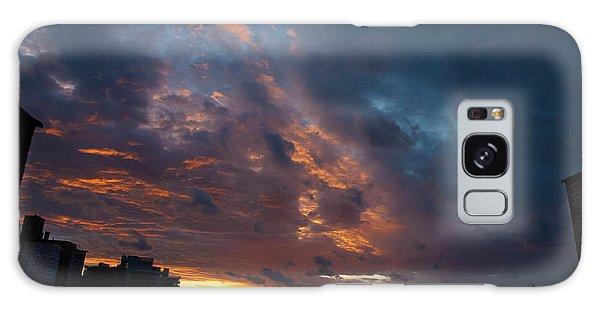 Sunset Over Brooklyn Post Irene Galaxy Case