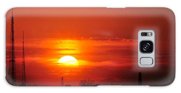 Sunset Over Washington Dc Galaxy Case