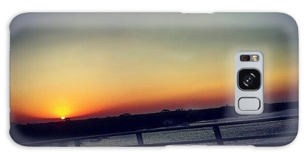 Summer Galaxy Case - #sunset #rainbow #cool #bridge #driving by Mandy Shupp