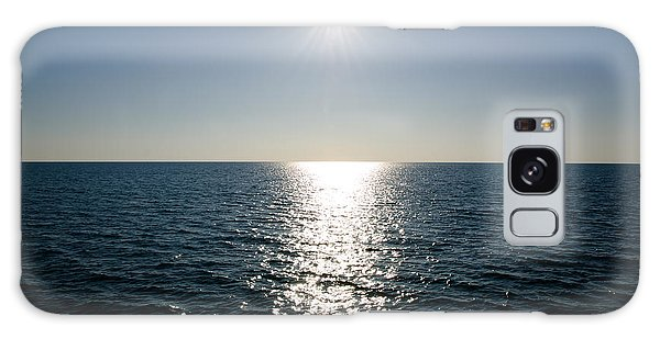 Sunshine Over The Mediterranean Sea Galaxy Case