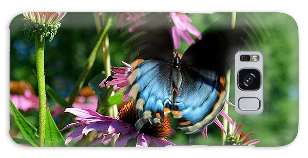 Swallowtail In Motion Galaxy Case