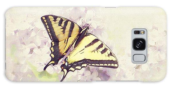 Swallowtail On Lilac Galaxy Case