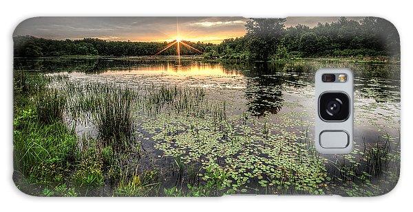 Sunrise Galaxy Case - Swamp Sunrise by Everet Regal